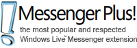 Messenger Plus Toolbar