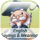 English Sayings &amp; Meanings App