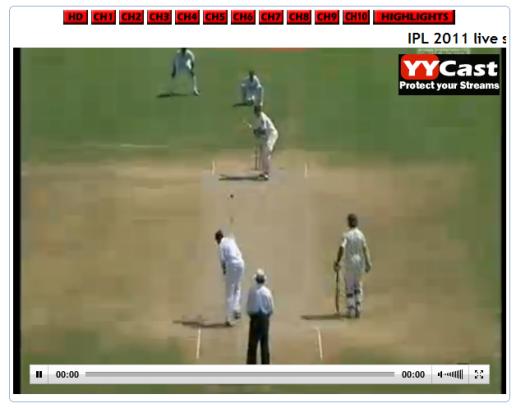 cricket live tv app