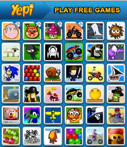 yepi kids games free online games