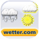 Wetter.com Wetter-Benachrichtigung App