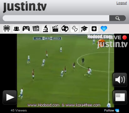 Justin.tv App - Justin.tv Apps | Conduit