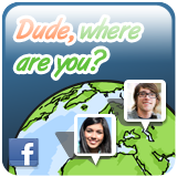Dude, where are you? App