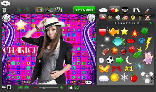 Online apps pizap screenshots reheart Image collections