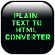 Plain Text to HTML Converter App